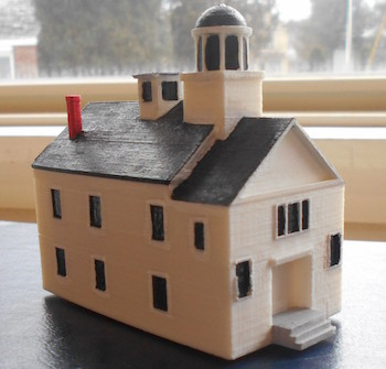 Scaled model of the Medical College by CHUSD middle school students