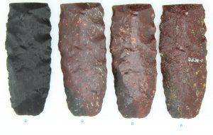 Comparison of 3D printed artifacts to original
