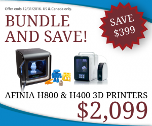 Holiday discount on H800 and H400 bundle