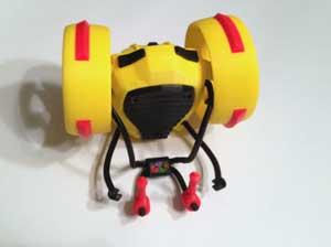 The Jetpack, folded for easy transport.