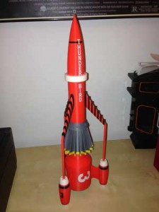 The completed Thunderbird 3.