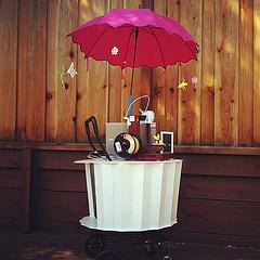 The cupcake inspired Mobile Maker Cart