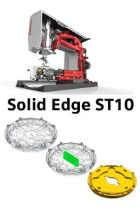 Solid Edge ST10 with sample