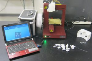 Afinia 3D printer at BVS
