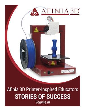 Afinia 3D Printer Inspired Educators eBook