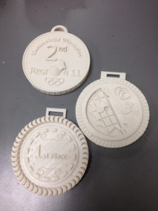 Youngblood's 3D-printed Medals with Braille