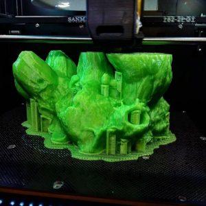 Barnacle printing on Afinia H800
