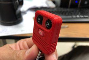 Student 3D printed keyfob project