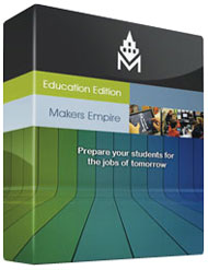 Maker's Empire 3D design and printing learning program