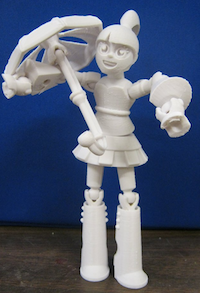 Afinia 3D-printed toy design