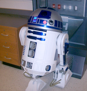 3d printed life size R2-D2 droid