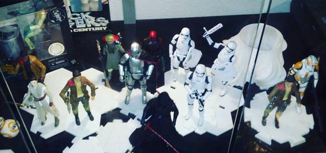 3D-printed Star Wars Diorama