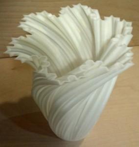 3D-printed vase