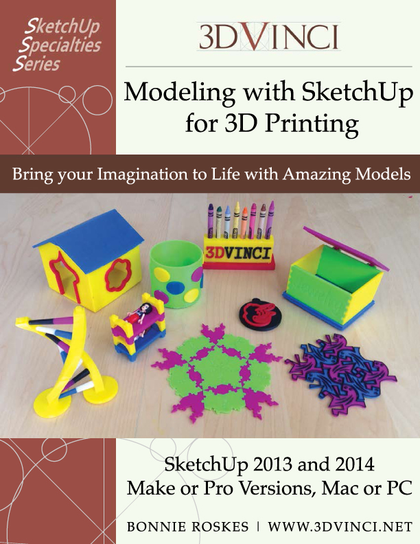 Afinia H-Series Featured in Modeling with SketchUp for 3D