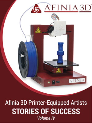 Afinia-3Dprinting-eBook-vol4-artists