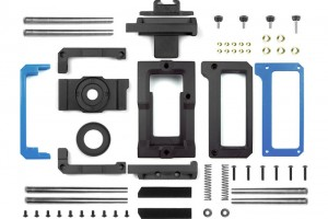 The BeastGrip, made from 10 – 3D printed (and 48 other) parts, was prototyped and is manufactured on an Afinia H-Series 3D Printer.