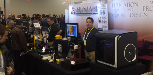 Afinia 3D Printer and 3D Scanner at CES 2016 in Las Vegas