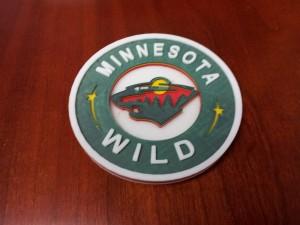 3D Printed Minnesota Wild Logo