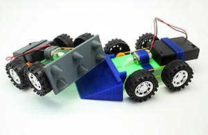 Demolition Derby for 3D printing STEM curriculum