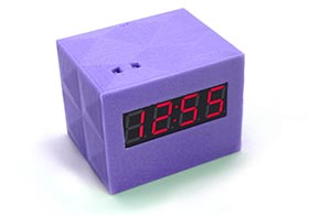 Digital Clock for 3D printing STEM curriculum