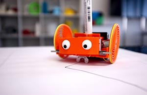 Spirobot for 3D printing STEM curriculum