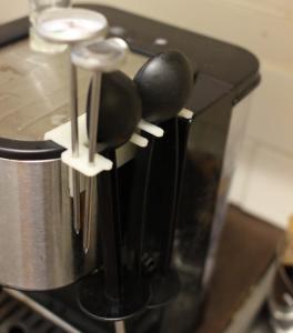3D-printed coffee machine attachment