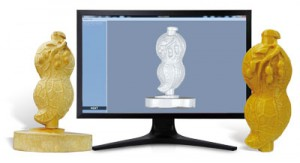 Afinia ES360 Desktop 3D Scanner and Printer Results