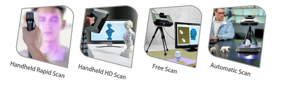 EinScan-Pro Features