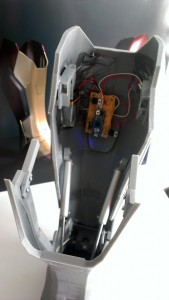 Electronics in the Afinia 3D printed MK 42 Prototype