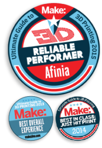 Make Magazine Best Overall Experience, Reliable Performer, Best in Class