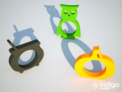 3D printed napkin rings