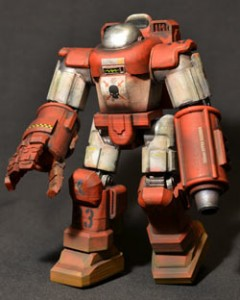 3D-printed action figure