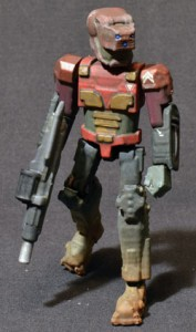 3D-printed action figure by Mininberg