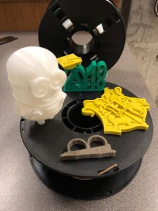 3D printed projects by Shircliff's class