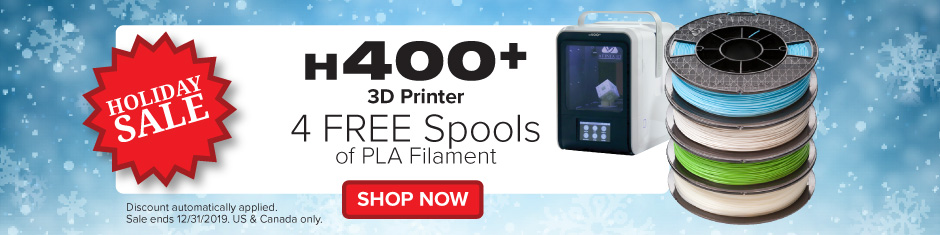 Holiday promotion - Afinia 3D H400 plus