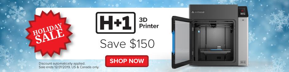 Afinia H+1 3D Printer (H plus 1)
