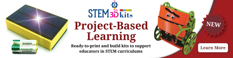 STEM Kits for Project-based Learning from Afinia 3D