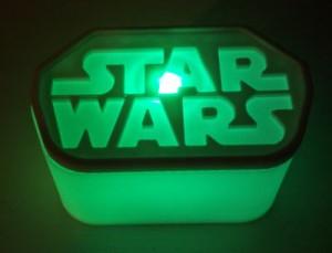 3D-printed Star Wars display base